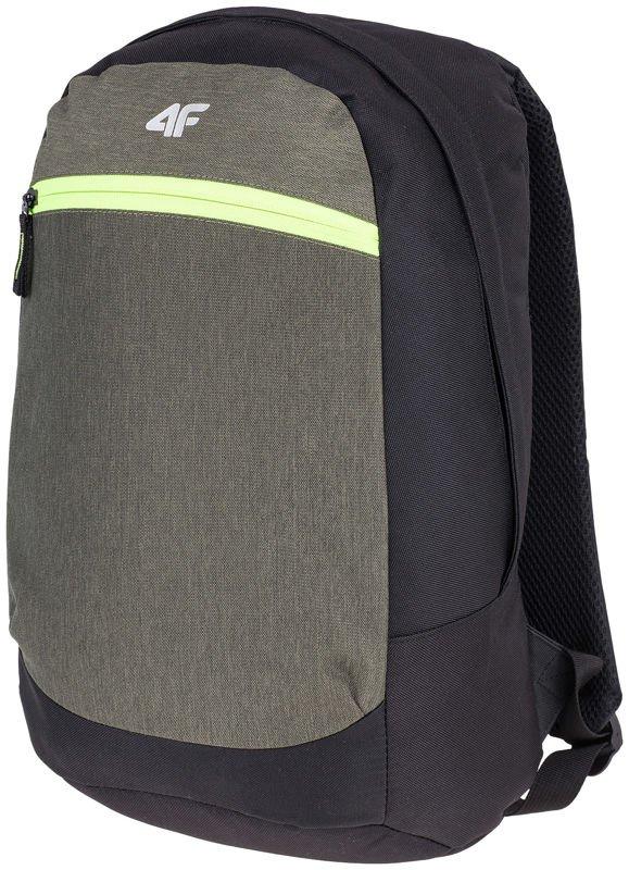 3316b2df6e2f2 Plecak szkolny miejski sportowy 4F PCU001 14L Zielony | AKCESORIA ...