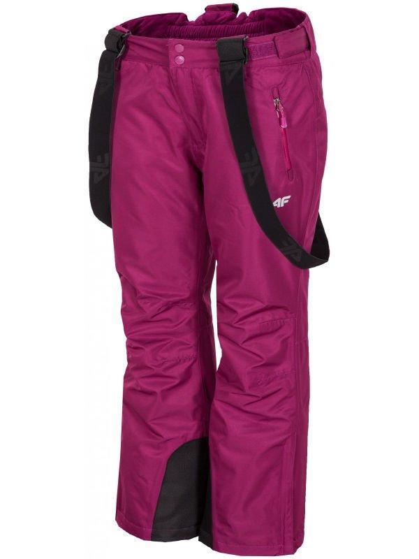 fce65f72296af Spodnie narciarskie damskie SPDN001 - fiolet purpurowy Click to zoom ...