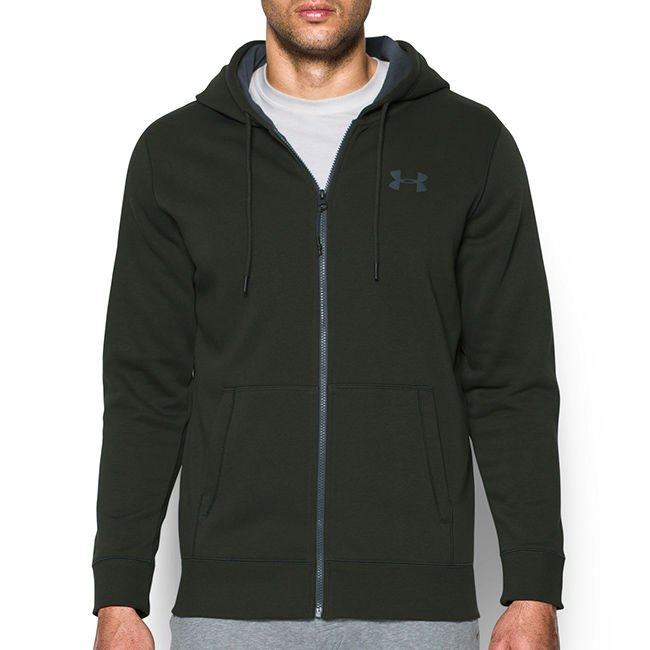 klasyczne dopasowanie 100% autentyczny wybór premium Termoaktywna bluza męska z kapturem ColdGear Storm Rival Cotton Full Zip  Hoodie Under Armour 1280781