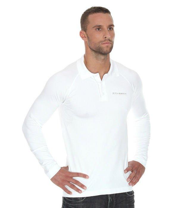 5649cf521 ... Termoaktywna koszulka męska polo z długim rękawem Brubeck Prestige  LS10620 Click to zoom