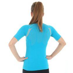 ee90a5b428af03 Click to zoom · Termoaktywna koszulka damska z krótkim rękawem Brubeck  Inspiration SS10780