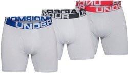 Bokserki męskie Under Armour Charged Cotton 6in 1327426