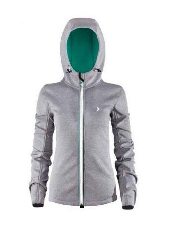 wielka wyprzedaż uk dobra jakość uznane marki Damska kurtka softshell Outhorn HOL17-SFD600 szary