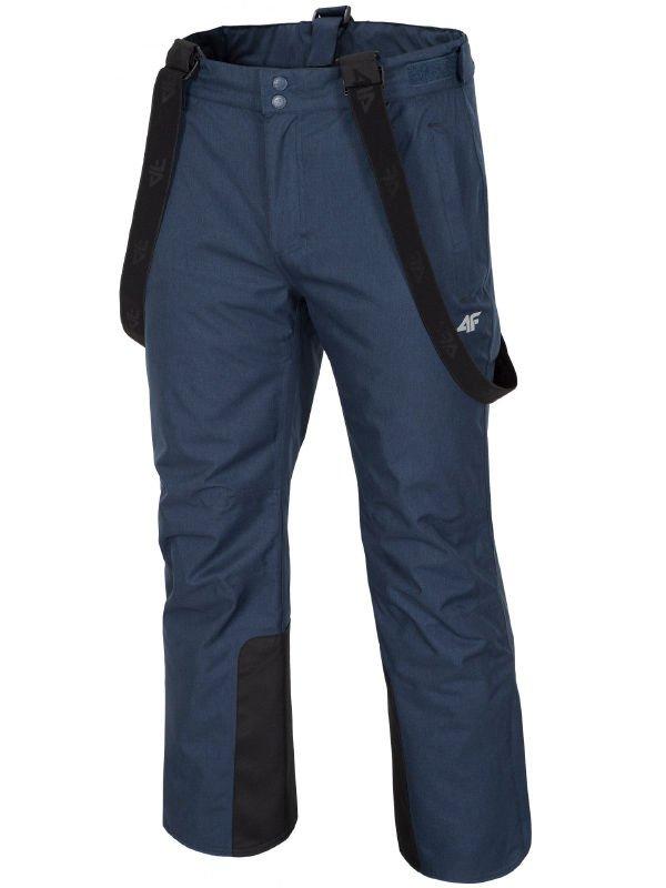1091494a830b50 Spodnie narciarskie męskie SPMN001 - granatowy melanż Kliknij, aby  powiększyć ...
