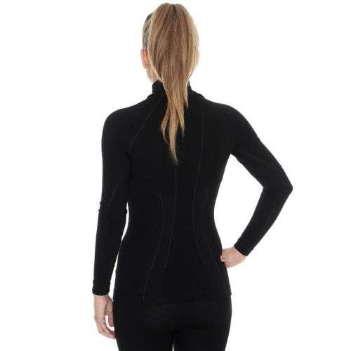 8008b741891aab Kliknij, aby powiększyć · Termoaktywna ciepła wełniana bluza damska Brubeck  Extreme Wool LS11930