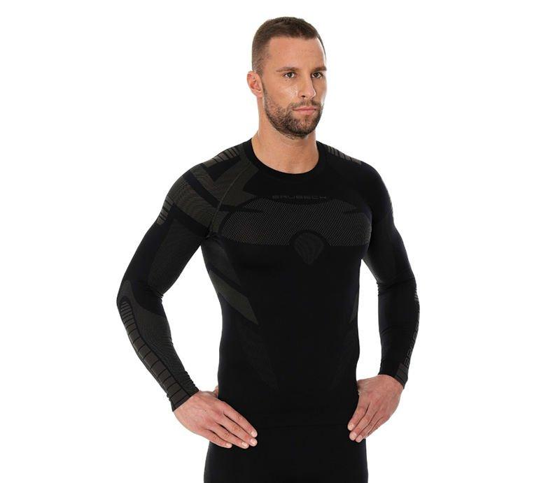 80d16ee6ffd308 Termoaktywna dwuwarstwowa bluza męska Brubeck Dry LS13080 Nowość ...