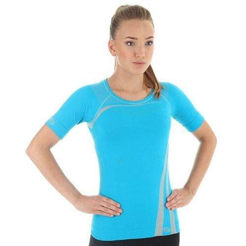 9be0103033ec40 Termoaktywna koszulka damska z krótkim rękawem Brubeck Inspiration SS10780  Kliknij, aby powiększyć ...