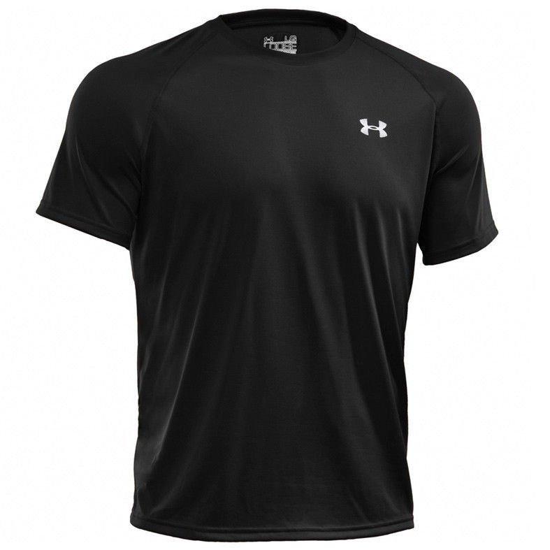 3d0633d32 Termoaktywna koszulka męska HeatGear Tech SS Tee Under Armour czarny ...