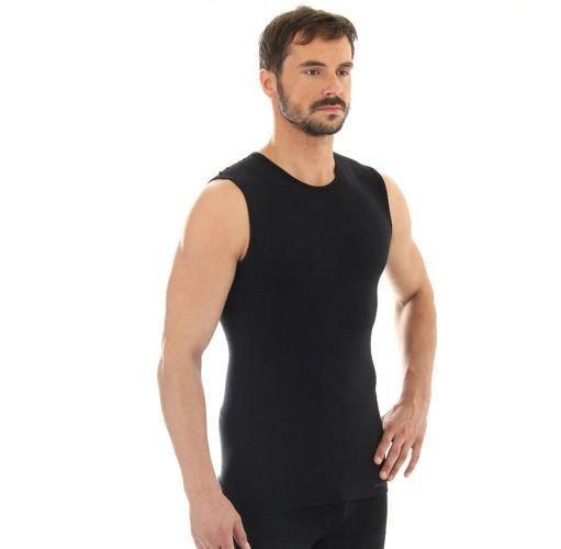 6c2b0151a Termoaktywna koszulka męska bez rękawów Brubeck Comfort Wool SL10160  Kliknij, aby powiększyć ...