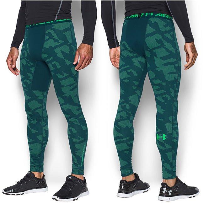 najnowsza zniżka moda odebrane Termoaktywne spodnie męskie ColdGear Armour Compression Jacquard Legging  Under Armour 1285092